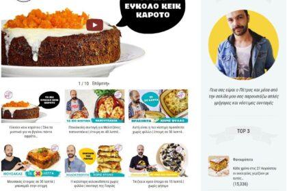 Ιστοσελίδα συνταγών petrosmaounatzis.com